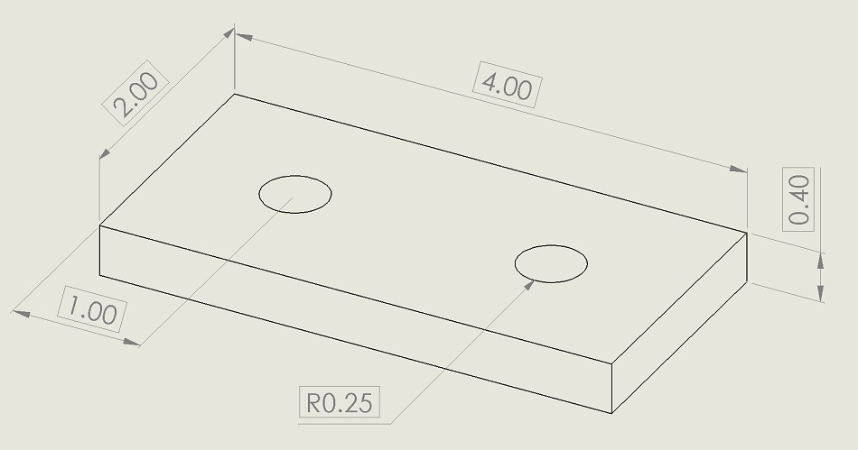 diagram for drawing tolerances for flat plane